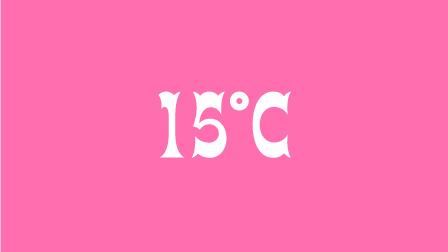 15℃ 募集要項